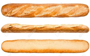 12975469-Long-loaf-French-bread-isolated-on-the-white-background--Stock-Photo
